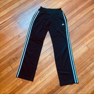 MENS small adidas relaxed track pants black S